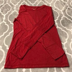 Mossimo red tee